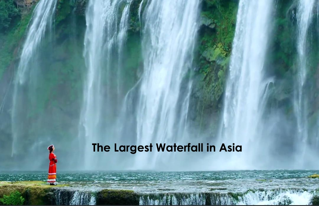 Where Is The Largest Waterfall In Asia China Tours